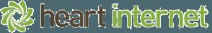Heart logo blank background
